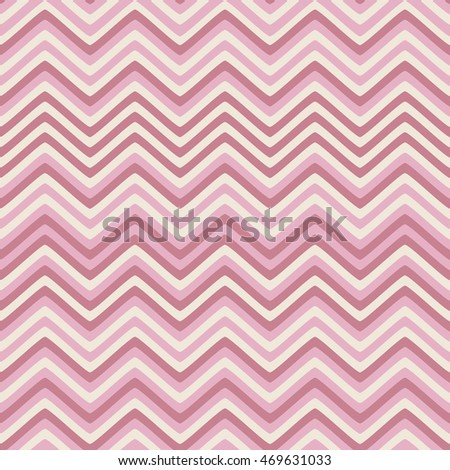 Seamless background with wavy stripes of summer colors