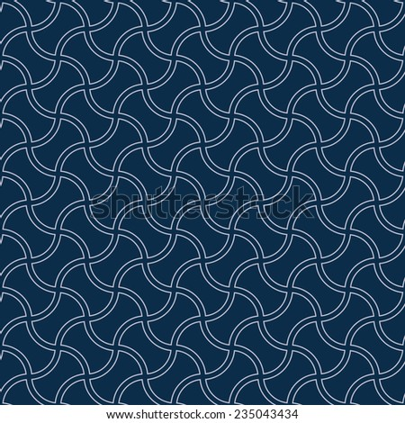 Seamless backgrounds(Fabric texture) - stock vector