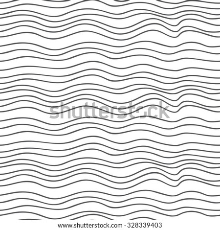 Seamless Beautiful abstract wavy background vector.