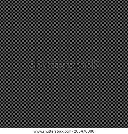 Seamless black checked texture. Vector art.