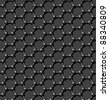 Seamless carbon molecular lattice background - vector pattern for continuous replicate. See more seamlessly backgrounds in my portfolio. - stock vector