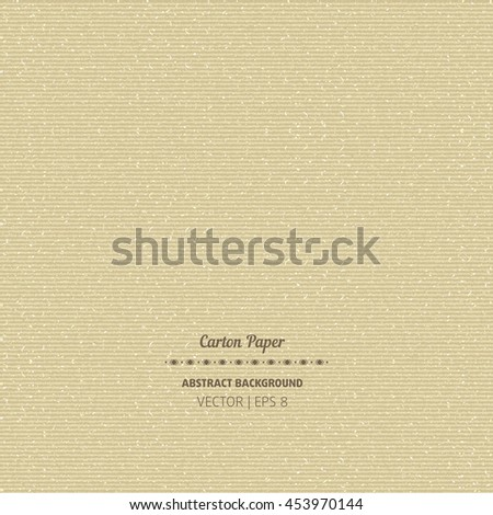 Seamless cardboard texture vector illustration for package design - stock vector