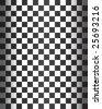Seamless Checker Pattern - vector illustration - stock photo