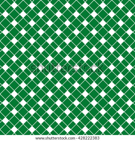 Seamless checkered background. Vector background.