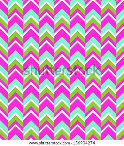 Seamless Chevron Pattern - stock vector