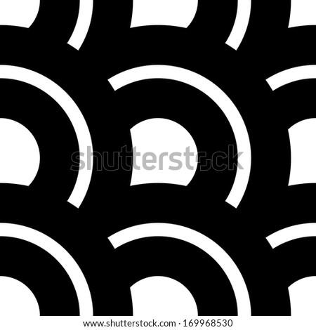 Seamless Circles Pattern - stock vector