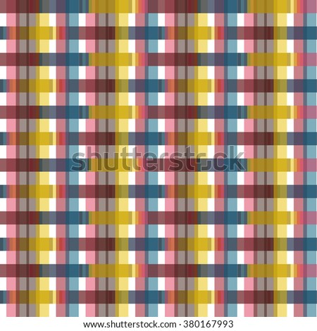 Seamless colorful abstract modern line pattern