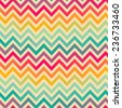 Seamless colorful geometrical pattern - stock photo