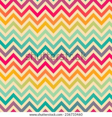 Seamless colorful geometrical pattern - stock vector