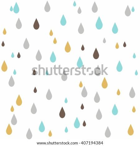 seamless colorful rain drops pattern background.  rain drops. rain drops. rain drops. rain drops. rain drops. rain drops. rain drops. rain drops. rain drops. rain drops. pattern. pattern.  pattern.  - stock vector