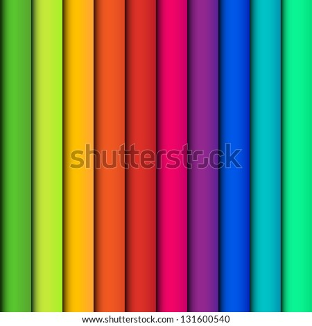 Seamless colorful striped abstract background. Easy color change