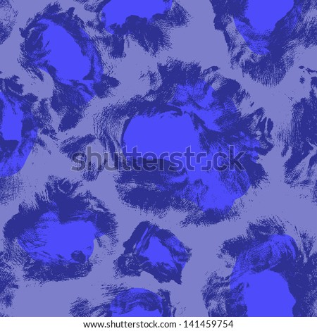 Seamless colorful textures of leopard - stock vector