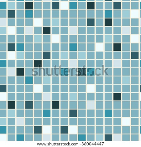 Seamless Colorful Tile Background