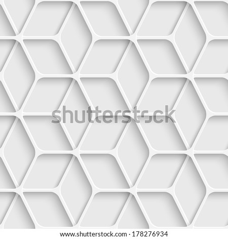 Seamless Cube Background - stock vector