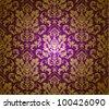 Seamless damask pattern. EPS 10 - stock vector