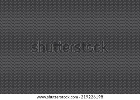 Seamless dark gray rhombus pattern vector