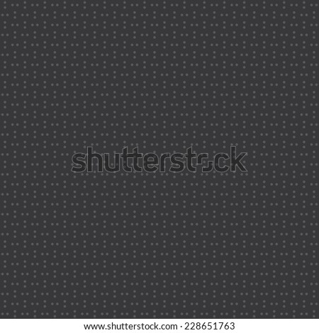Seamless dark gray series of dots pattern vector