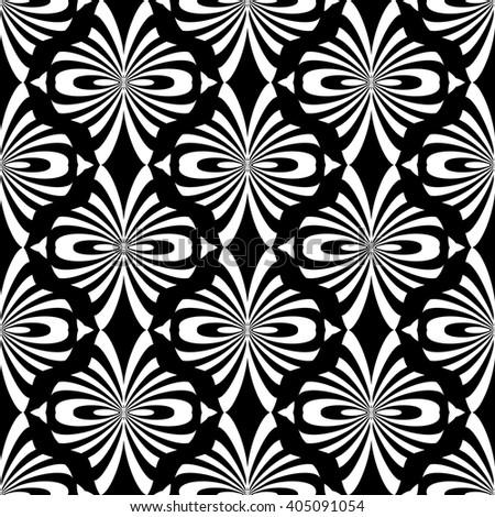 Seamless decorative pattern. Oriental design. Vector art. - stock vector