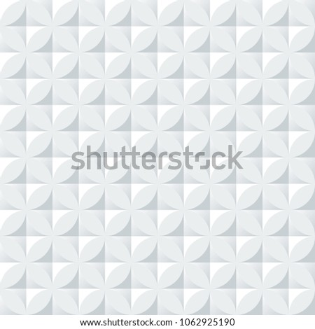 Seamless Decorative Plaster Ceiling Pattern Ideal Stock Vector