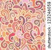 seamless decorative stain pattern - stock vector