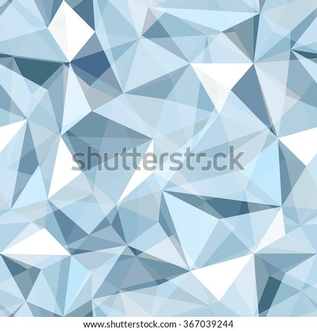 Seamless Diamond Pattern of geometric shapes