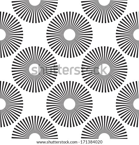 Seamless Disco Pattern - stock vector