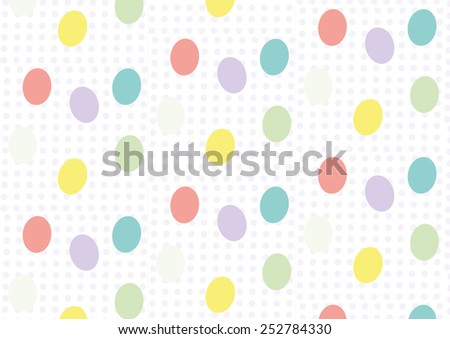 Seamless easter vector pattern. Can be used for textiles, accessories; decorative paper, stationery,  wrapping etc. Swatch for seamless pattern included. - stock vector