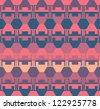 Seamless Ethnic  Geometric Pattern - stock vector