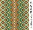 Seamless ethnic pattern background - stock vector