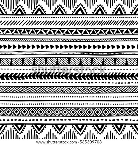 Ethnic Seamless Pattern Stock Images Royalty Free Images Vectors