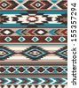 seamless ethnic  vector print pattern - stock vector