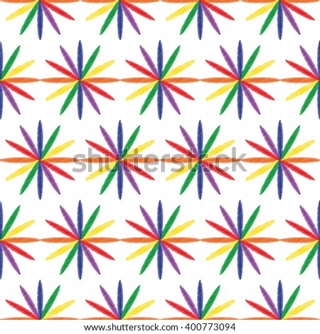 seamless example of multicolored iridescent colors. vector illustration - stock vector