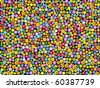 seamless  floral background.vector illustration - stock photo