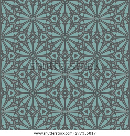 Seamless floral background. Vector illustration