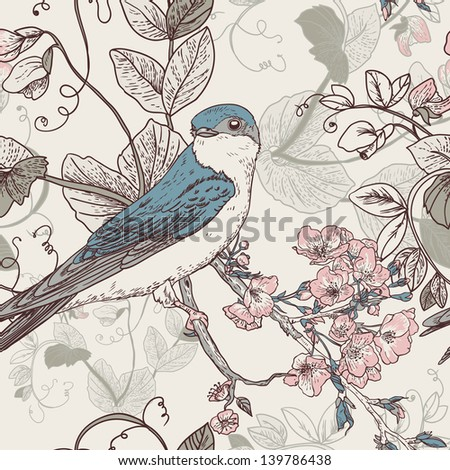 Wallpaper With Birds bird wallpaper stock images, royalty-free images & vectors