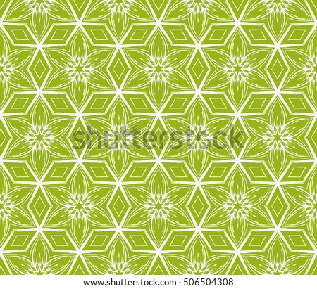 seamless floral geometric patterns. olive color. Texture for holiday cards, Valentines day, wedding invitations, design wallpaper, pattern fills, web page, banner, flyer. Vector illustration.