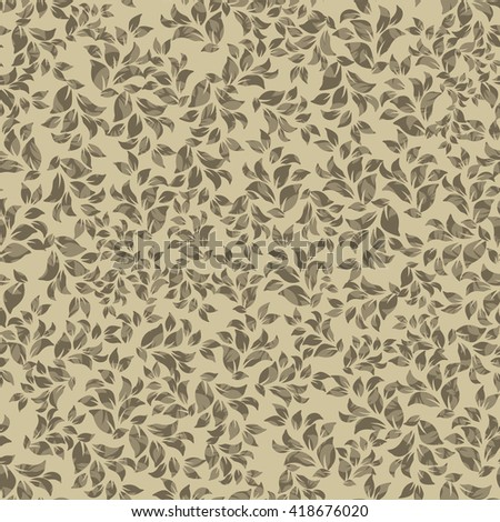 Seamless floral pattern. Endless pattern can be used for ceramic tile, wallpaper, linoleum, web page background