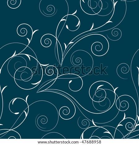 Floral swirl patterns - photo#30