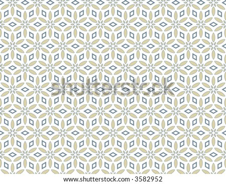 Seamless floral wallpaper background repeating patterns