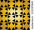 Seamless flower tiling background - stock vector