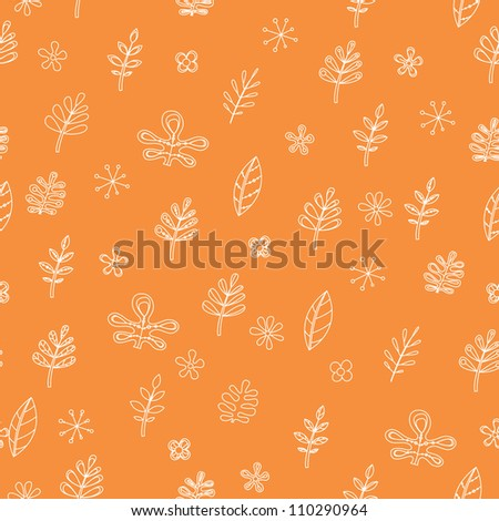 seamless flowers pattern. Can be used for wallpaper, pattern fills, web page background, surface textures