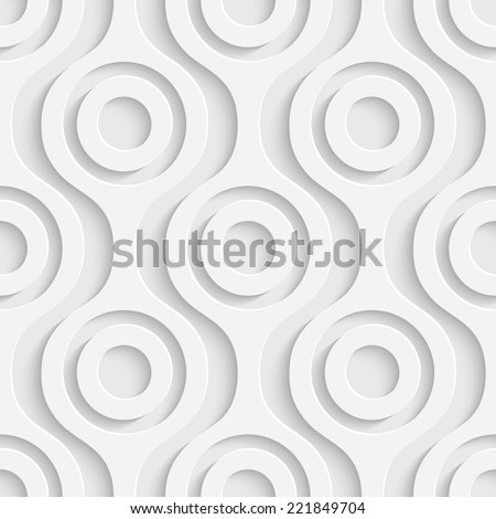 Seamless Geometric Background - stock vector