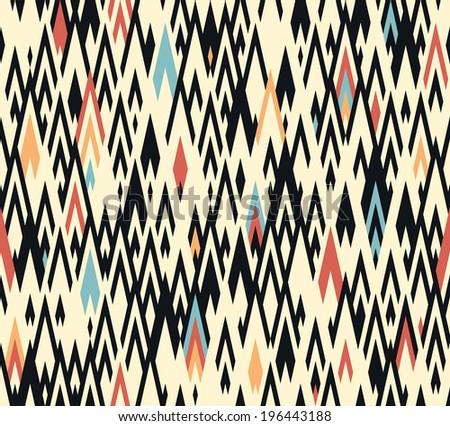 Seamless geometric background pattern  - stock vector