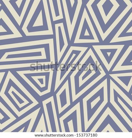 Seamless geometric background. Vector Illustration.  - stock vector