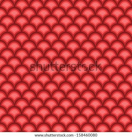 Seamless Geometric Background - Vector Illustration - stock vector