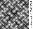 Seamless geometric checked texture. Vector art. - stock vector