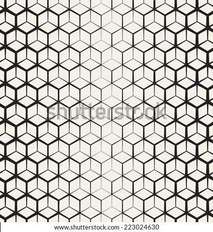 Seamless Geometric Pattern Geometric Simple Print Stock