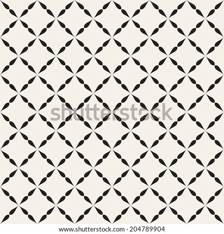 Seamless geometric pattern. Geometric simple print. Vector repeating texture - stock vector