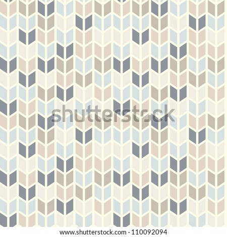 Seamless geometric pattern in pastel tints - stock vector