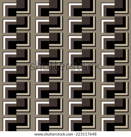 Seamless geometric pattern of squares
